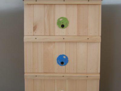 Včelí úl sestava 39x24cm - zateplená 3cm