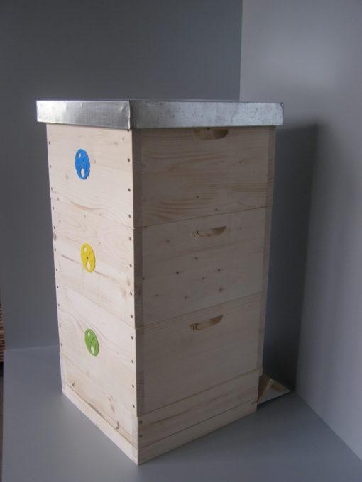 Celodřevěný včelí úl 39x24cm