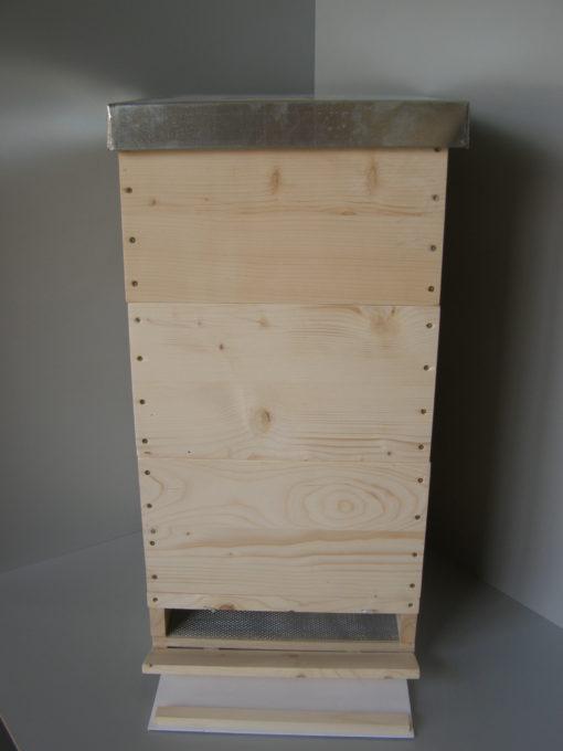 Celodřevěný včelí úl 39x24cm - komplet