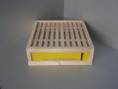 Varroa dno včelího úlu 39x24 cm pozink/plastové česno