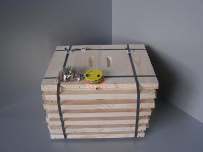 Nástavky včelího úlu celodřevěné 39x24 nesesazené